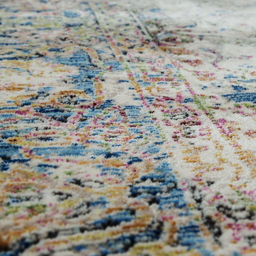 Gr/össe:80x150 cm Paco Home Designer Vintage Teppich Orientmuster Eyecatchter Ornamente Bunt Mehrfarbig