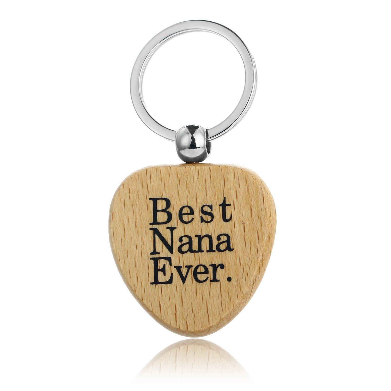 MOM Geschenk Gigi Nana Geschenk Holz Schlüsselanhänger Geschenk ...