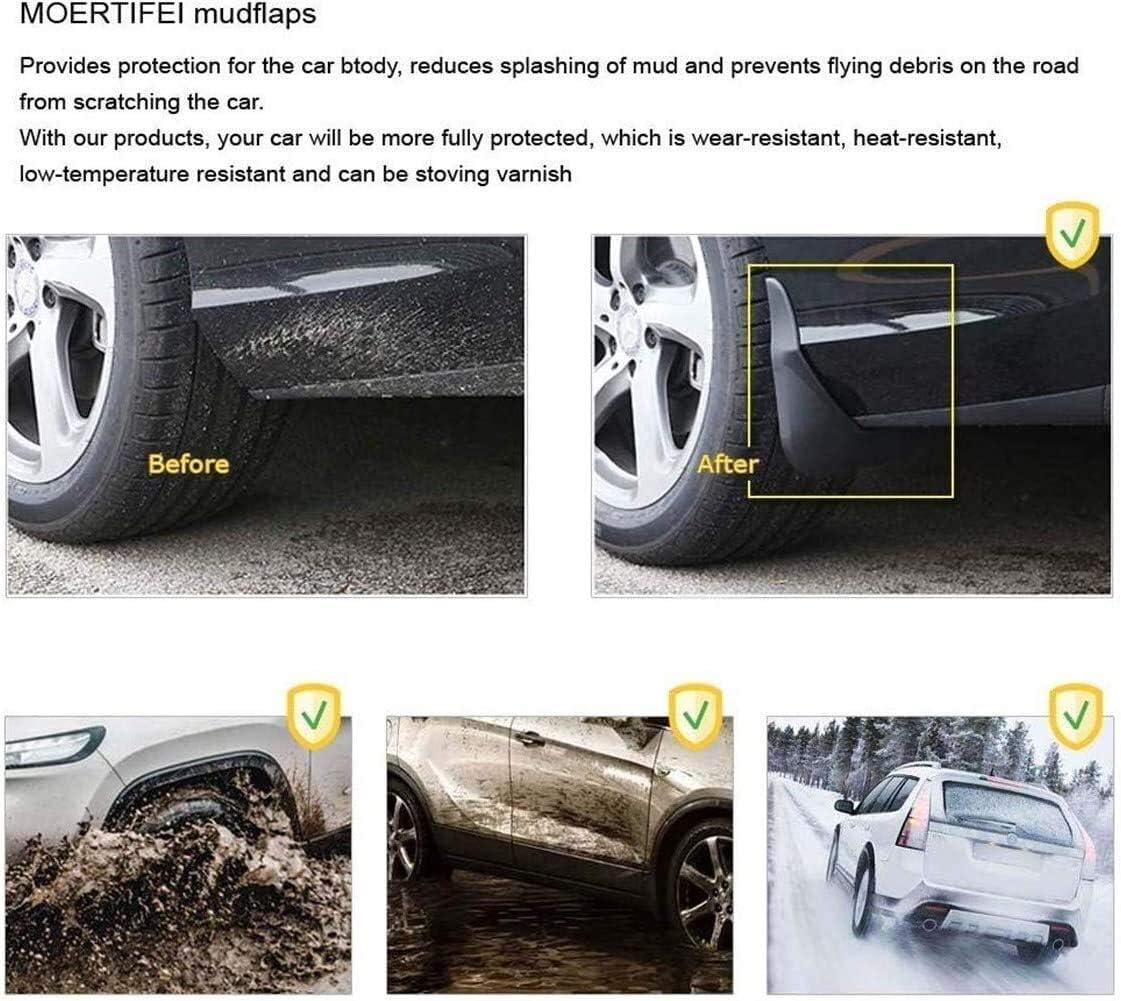 Shenme For Toyota Hilux 2015 2016 2017 2018 2019 Guardabarros para Accesorios Protecci/ón contra Salpicaduras Delantera Trasera Protecci/ón Mudguard con Tornillos De Fijaci/ón,Guardabarros