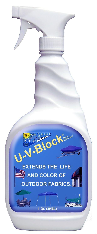Atsko Sno-Seal UV Block Sun Protection for Boat Covers/Outdoor Fabrics, 32-Fluid Ounce 23442