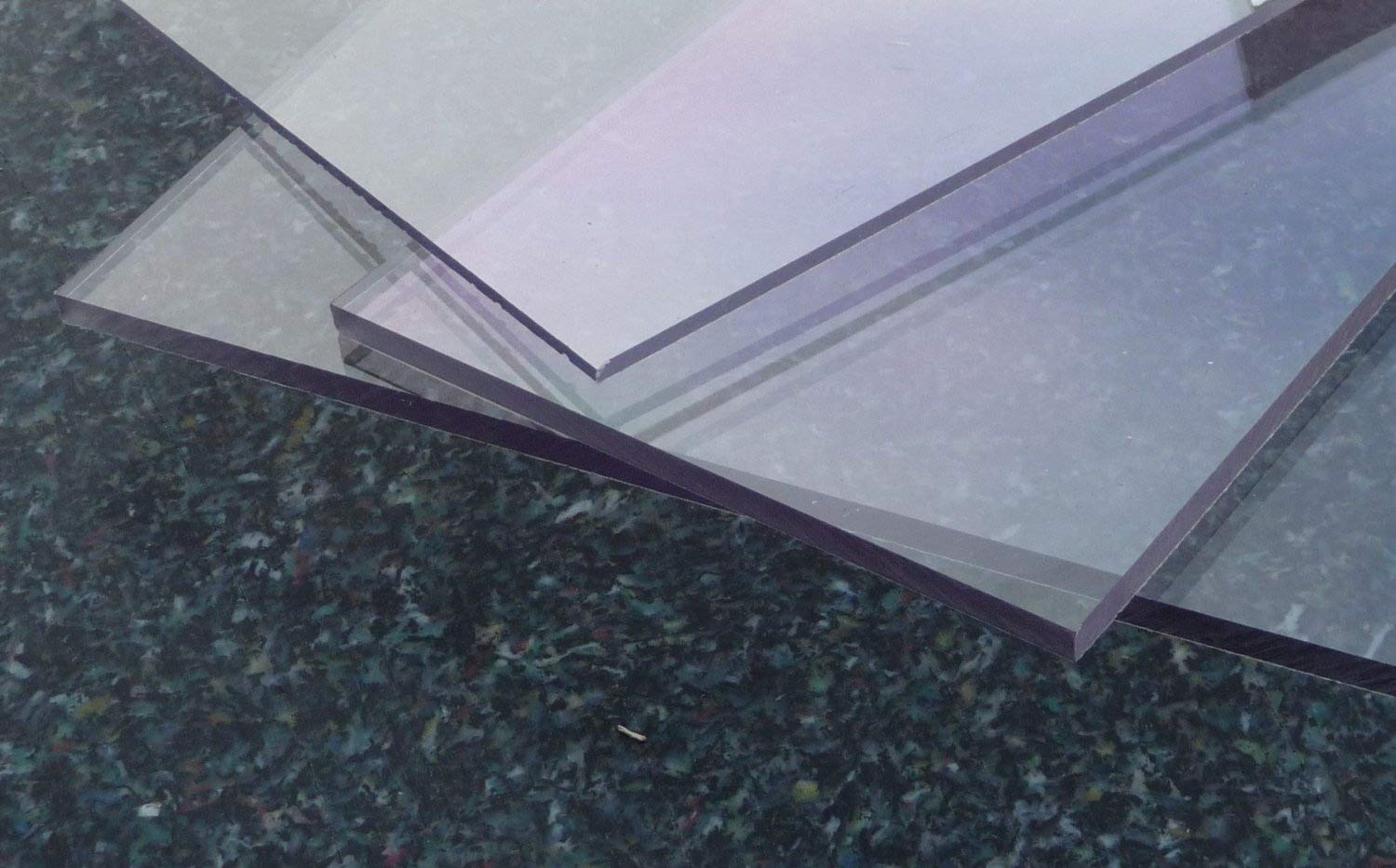 Clear solid polycarbonate sheet, 600 x 500 x 3 mm Plate Polycarbonate cut colorless alt-intech PC/PMMA Sheet