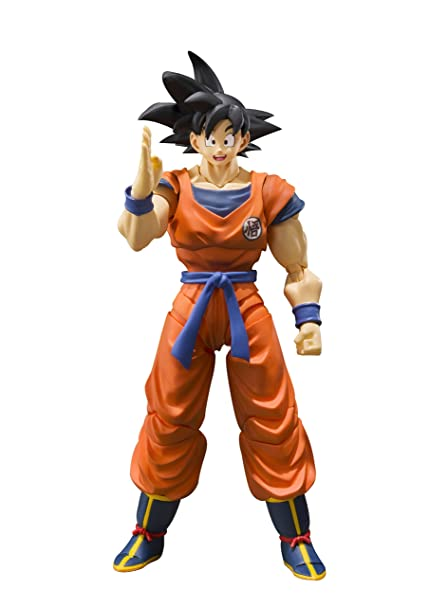 Sh Figuarts Dragon Ball Son Goku Saiyan Of Raising The Earth Approximately 140 Mm Abs Pvc Painted Movable Figure