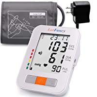Lotfancy Upper Arm Blood Pressure Monitor, 2 Users, 180 Readings, Upper Arm Cuff...