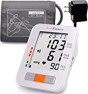LotFancy Monitor de presión arterial By, parte superior..