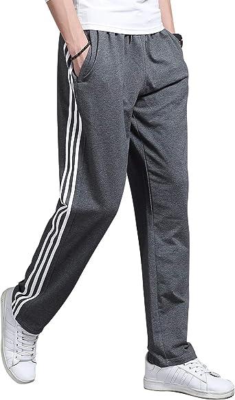Lachi Pantalones Chandals Hombre Pantalón Deportivo Largos Algodón ...