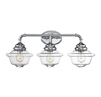 Savoy House 8-393-3-11 Fairfield 3-Light Vanity Bar in Chrome ...