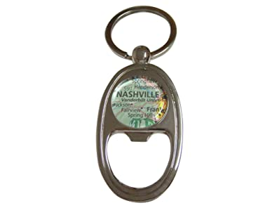 Vanderbilt University Map Key Chain Bottle Opener | Amazon.com