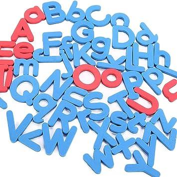 259 aimants /éducatifs pour r/éfrig/érateur avec Tableau d/écriture magn/étique et bo/îte de Rangement pour vocabulaire Lettres et Chiffres magn/étiques Construction de Phrases et math/ématiques MOGOI