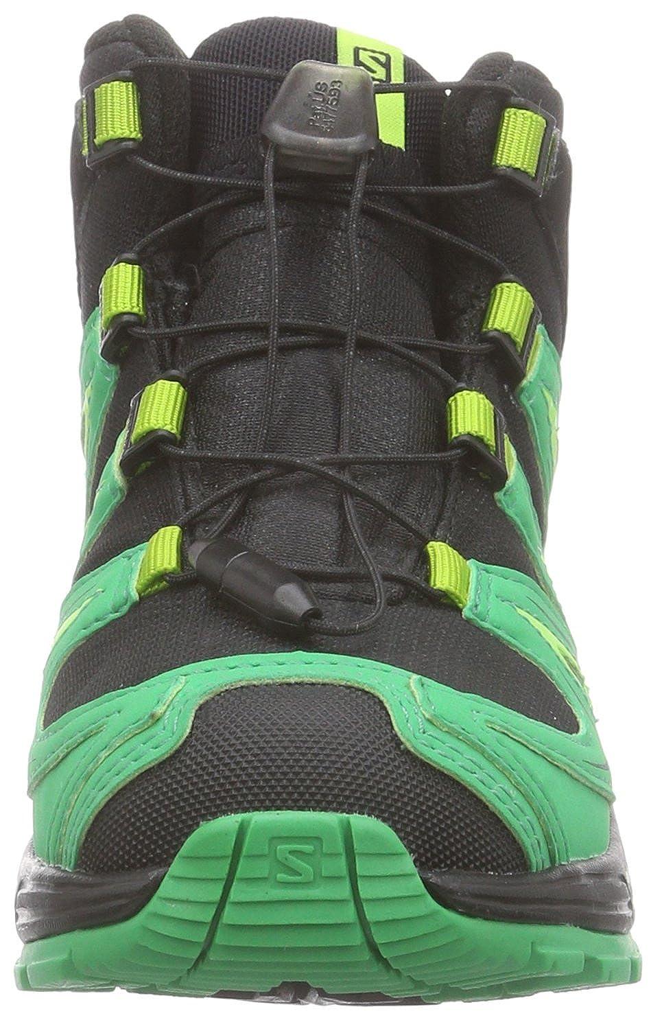 SalomonXA Pro 3D Mid K Zapatillas de Trekking y Senderismo de Media ca/ña Ni/ños-Ni/ñas