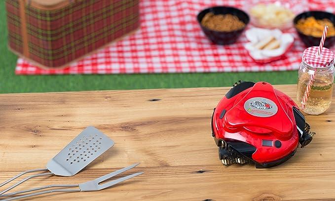 Grillbot robot para la limpieza de parrillas | Se aplica la ...