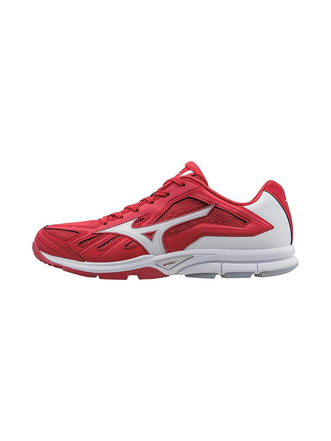 red mizuno turf shoes