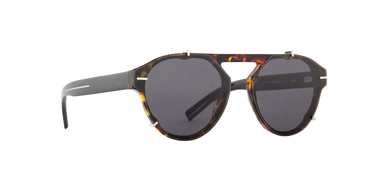 Amazon.com: Dior Black TIE 254S Havana/Black 62/15/150 ...