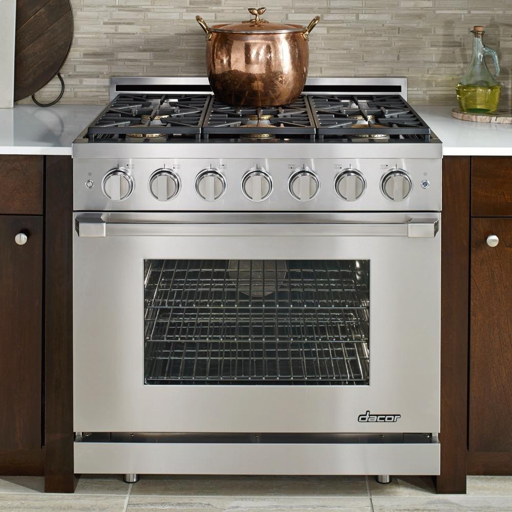 Dacor Renaissance 36 Stainless Steel Freestanding Gas Wall Oven Wiring Diagram Range Kitchen Dining
