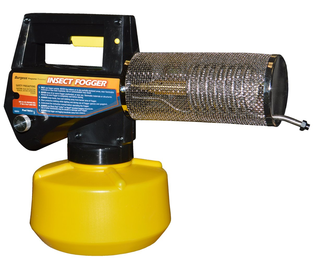 Burgess 1443 Propane Insect Fogger is used by most professionals to eliminate and kill all mosquitos
