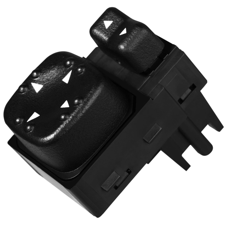 Chevrolet Silverado Tahoe Suburban,GMC Yukon Sierra ATRACYPART Power Mirror Switch for 19259975 Years model 2000-2002 Replaces OE# 15045085