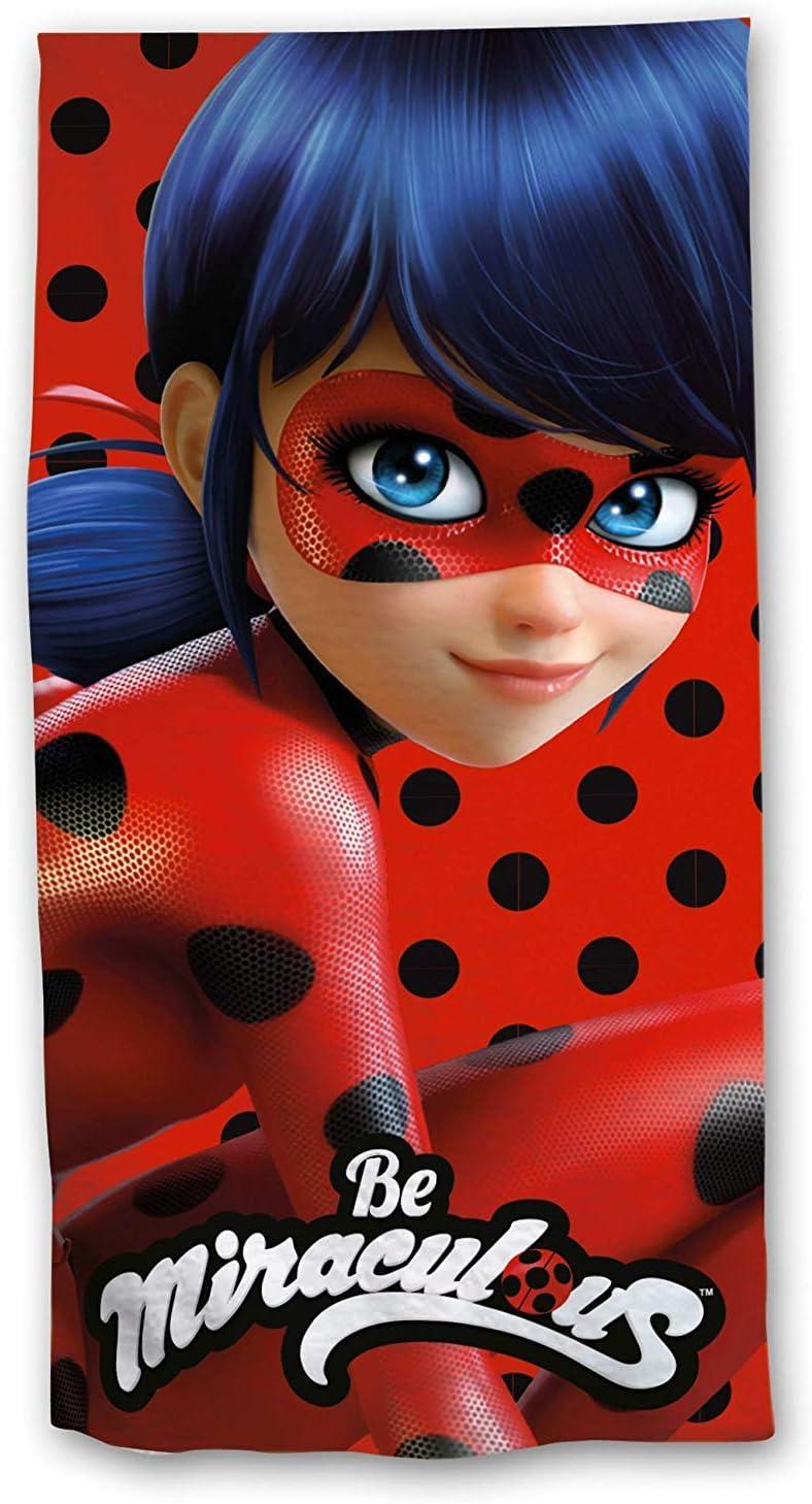 Miraculous Ladybug Kids Beach Towel 100/% Polyester