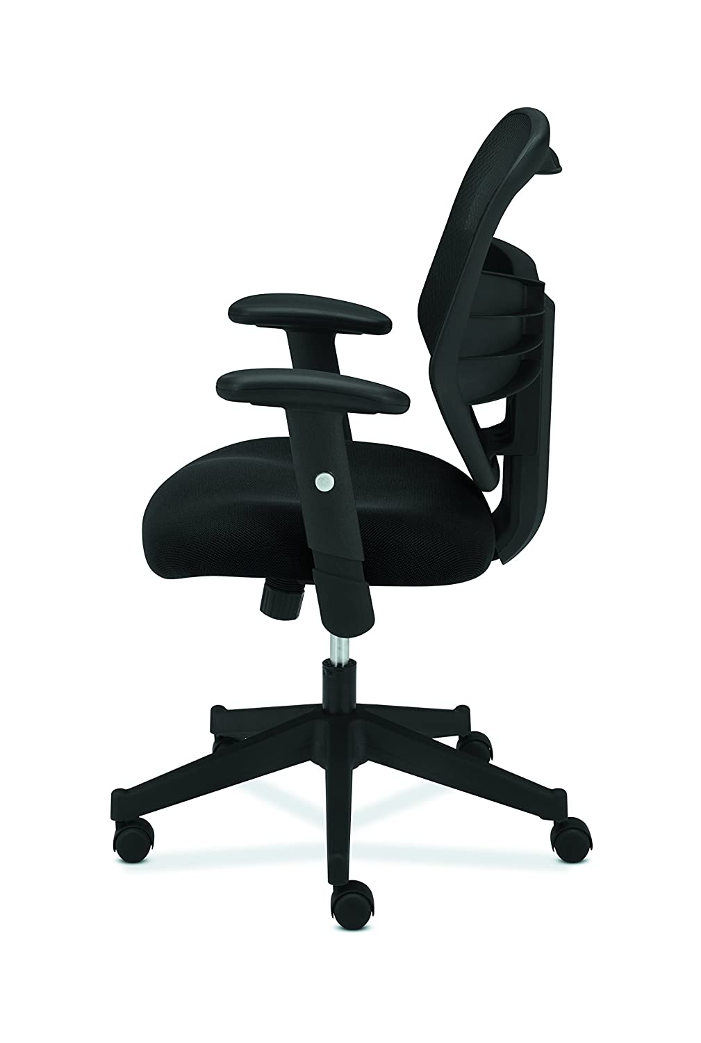 Black HVL531 Mesh Computer Chair for Office Desk HON Prominent High Back Work Chair
