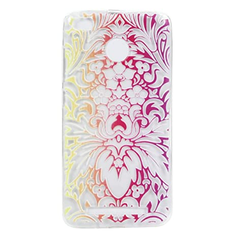 Ecoway TPU Funda Case for Xiaomi Redmi 3S, Ultra Thin Carcasa Anti Slip Soft Bumper Scratch Resistant Back Cover Crystal Clear Flexible Silicone Case ...