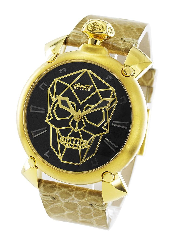 ガガミラノ マヌアーレ45MM バイオニックスカル 世界限定500本 腕時計 メンズ GaGa MILANO 6014.01S[並行輸入品] B076WSTWL7