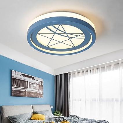 BINJG Blue Star LED Dormitorio Lámpara de Techo Moderna Sala ...