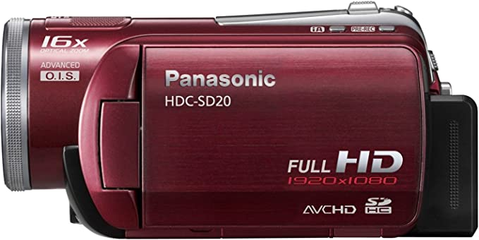 Panasonic HDC-SD20-R product image 7