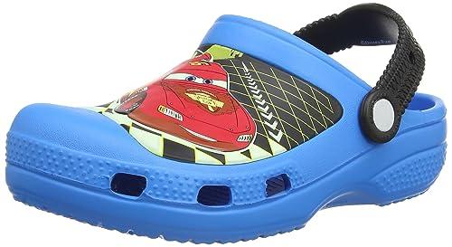 on sale 32aeb 978f7 crocs Jungen Cc Lightning McQueen Clogs