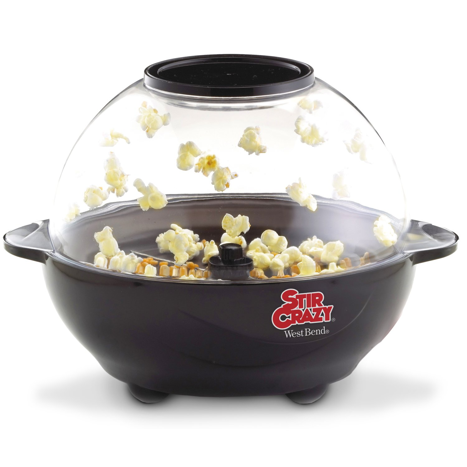 Amazon West Bend 82306 Stir Crazy 6 Quart Electric Popcorn