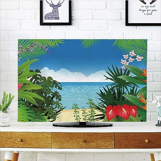 Funda para televisor LCD, Lavanda, diseño Retro de Mosaico ...