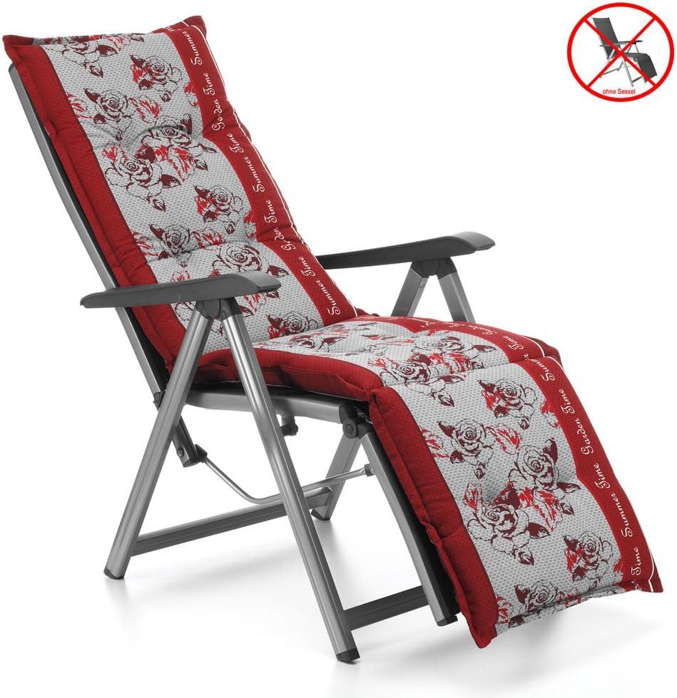 2 Dossier Haut fauteuil exigences en rouge Sun Garden mobilier de jardin Coussins De Chaise Coussin