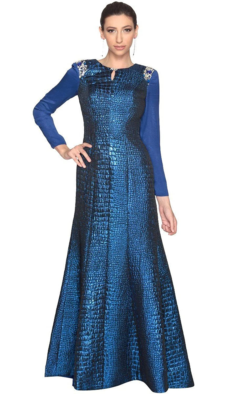 Amazon.com: Artizara Womens Amie Abaya Kaftan Formal Evening Modest ...