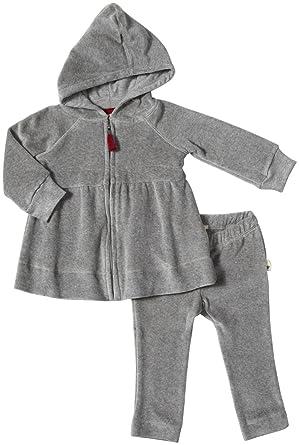 84db7fec8 Amazon.com  Burt s Bees Baby Baby Boys  Velour Striped Hoodie Set ...