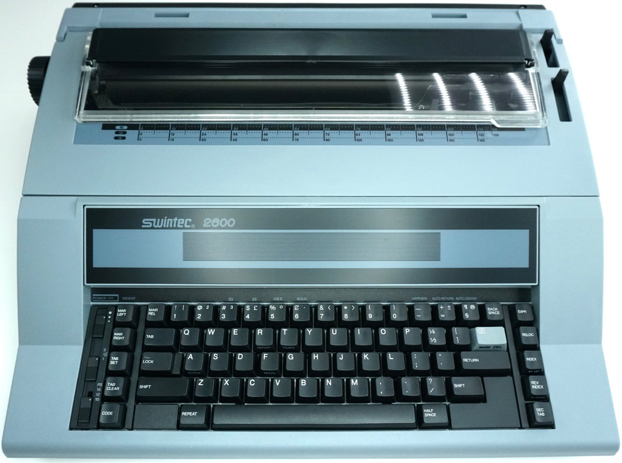 Swintec 2600 Typewriter by Swintec