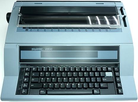Marca nueva Swintec 2600i electrónico máquina de escribir con funciones automáticas