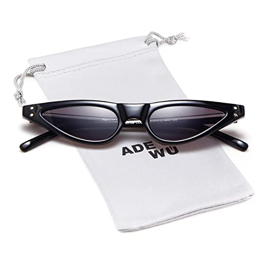 306d067efccf0 Image Unavailable. Image not available for. Color  Small Cat Eye Sunglasses  ...