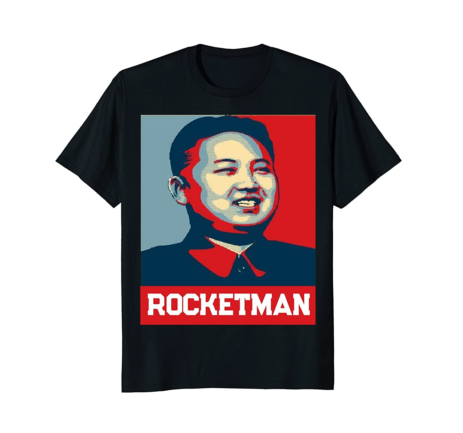 865d4d1e7 Imported Machine wash cold with like colors, dry low heat. Rocket Man Kim  Jong Un, North Korea's Favorite Dictator! Retro-style ...