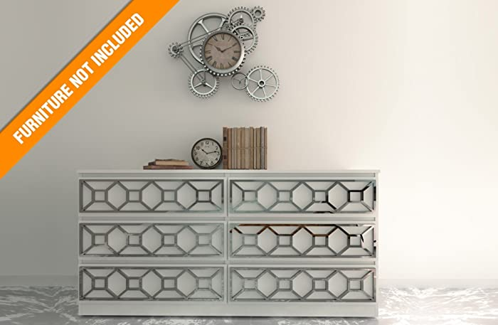 HomeArtDecor | Coimbra Overlay | Suitable For IKEA Malm | High Quality  Overlay | Color: