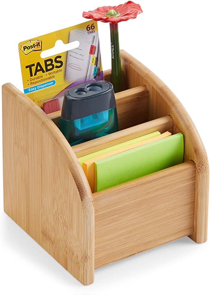 Vanity Shan-S 3-Tier Bamboo Shelf Organizer for Desk with Drawers Desktop Storage Box for Desk Office Supplies Kitchen and Home or Office Tabletop,Vanity,Toiletries Crafts Etc