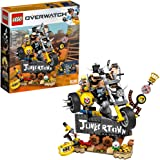 LEGO Overwatch Junkrat & Roadhog 75977 Building Kit, Overwatch Toy for Girls and Boys Aged 9+ (380 Pieces)