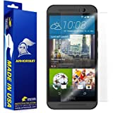 Armorsuit MilitaryShield® HTC One M9 Screen Protector Anti-Bubble Ultra HD Shield w/ Lifetime Replacements