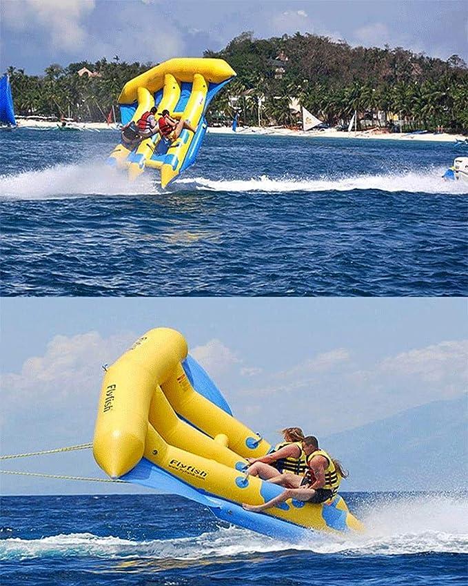 Amazon.com: JYNselling - Flotador inflable de PVC para barco ...