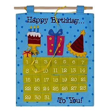 Amazon.com: Calendario de cuenta atrás de cumpleaños ...