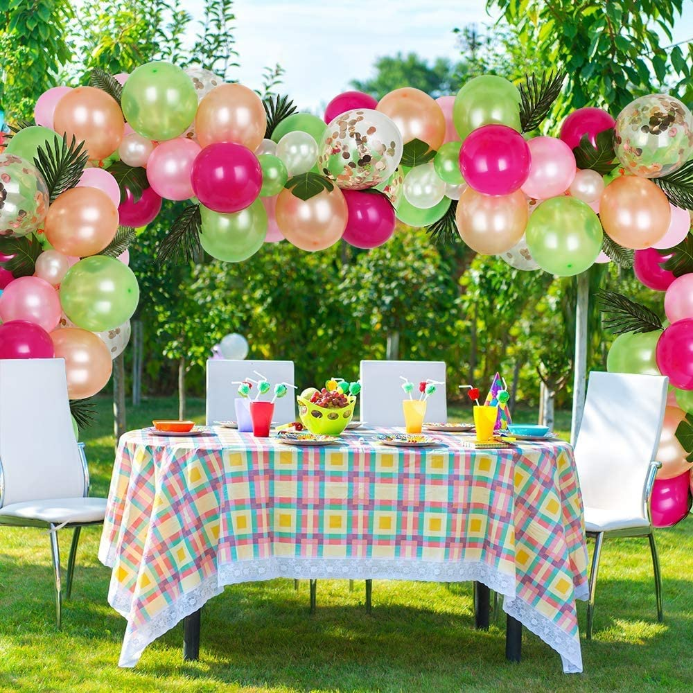 Arco de globos eventos al aire libre