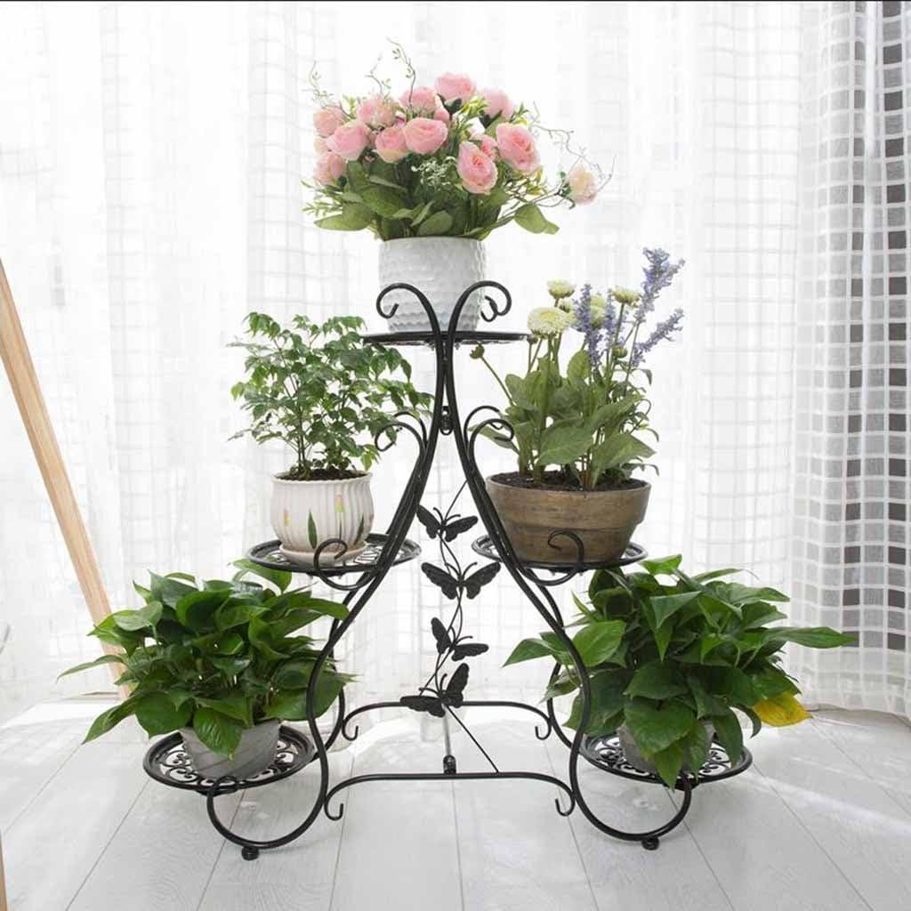 Soporte de exhibición de la flor de la planta Estable 5 niveles ...