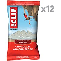 12 Count CLIF Bar Chocolate Almond Fudge Energy 2.4 oz. Bars