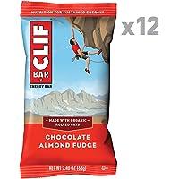 CLIF Bar Chocolate Almond Fudge (Box of 12), 12 x 68g