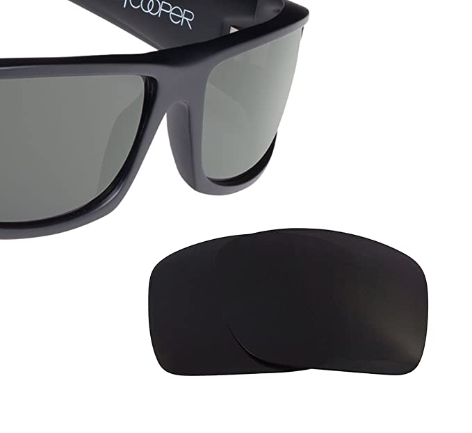 beaf98086b COOPER Replacement Lenses Polarized Black by SEEK fits SPY OPTICS Sunglasses