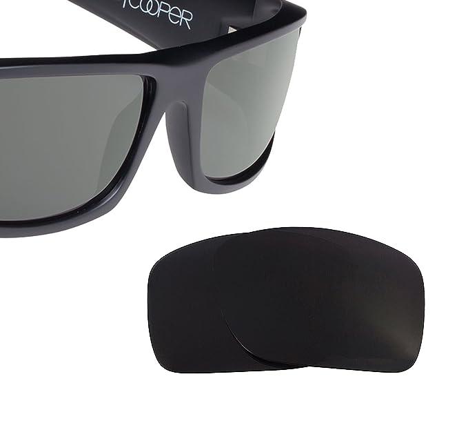 6efa96249c COOPER XL Replacement Lenses Polarized Black by SEEK fits SPY OPTICS ...