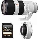 Sony FE 70-200mm f/2.8 GM OSS Lens (Lens + 1.4x Bundle)