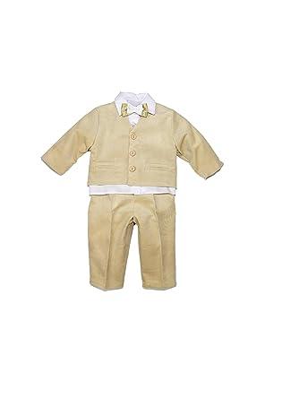 Fijo Traje taufanzug bebé niño niños Bautizo Traje boda trajes ...