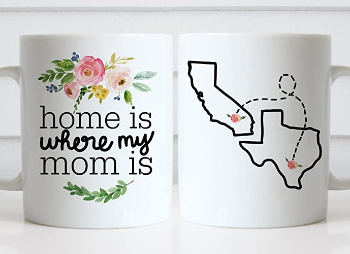 Amazoncom Home Is Where My Mom Is Mug State To State Mug